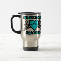 Heart/Wings...Dysautonomia Travel Mug
