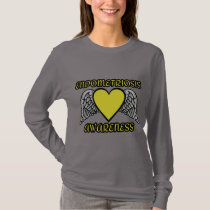 Heart/Wings...Endometriosis T-Shirt
