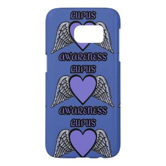 Heart/Wings...Lupus Samsung Galaxy S7 Case