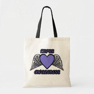 Heart/Wings...Lupus Tote Bag