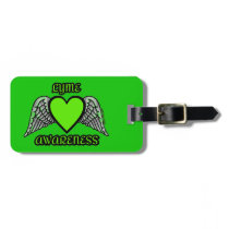 Heart/Wings...Lyme Luggage Tag