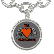 Heart/Wings...MS Bracelets