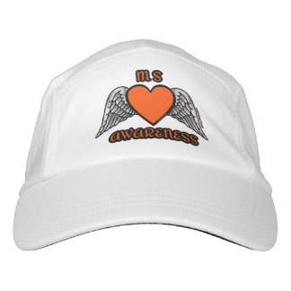 Heart/Wings...MS Headsweats Hat
