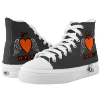 Heart/Wings...MS High-Top Sneakers