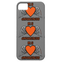 Heart/Wings...MS iPhone SE/5/5s Case