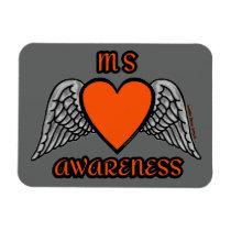 Heart/Wings...MS Magnet