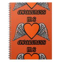 Heart/Wings...MS Notebook