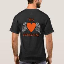 Heart/Wings...MS T-Shirt