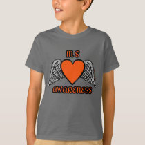 Heart/Wings...MS T-Shirt