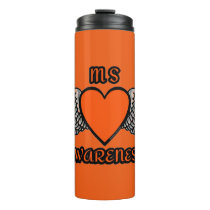 Heart/Wings...MS Thermal Tumbler