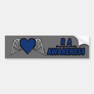 Heart/Wings...RA Bumper Sticker