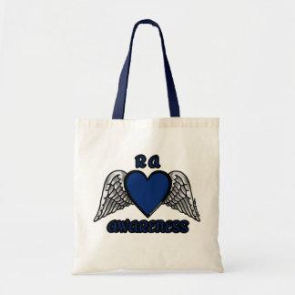 Heart/Wings...RA Tote Bag