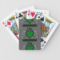 Heart/Wings...TBI Bicycle Playing Cards