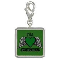 Heart/Wings...TBI Charm