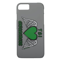 Heart/Wings...TBI iPhone 8/7 Case