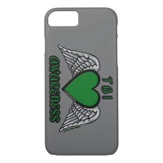 Heart/Wings...TBI iPhone 8/7 Case