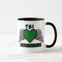 Heart/Wings...TBI Mug