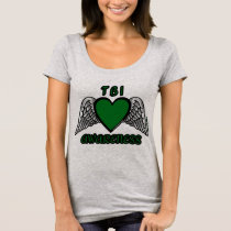 Heart/Wings...TBI T-Shirt