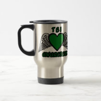 Heart/Wings...TBI Travel Mug