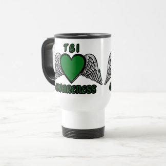 Heart/Wings...TBI Travel Mug