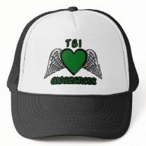 Heart/Wings...TBI Trucker Hat