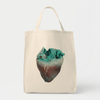 Heart with a Hungry Yellow Jacket Tote Bag