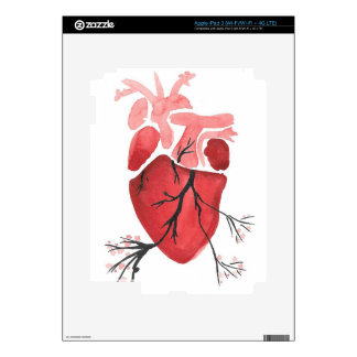 Heart With Branches iPad 3 Decals