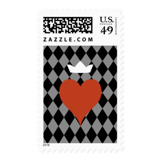 Heart with Crown Postage Stamps