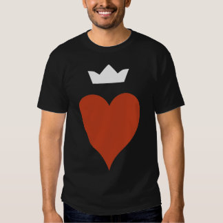 Heart with Crown Tshirt