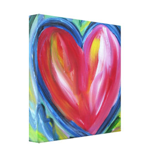 Heart with Hope Canvas Painting Art Painting
