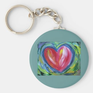 Heart with Hope Keychain