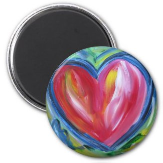 Heart with Hope Magnet