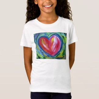 Heart with Hope Painting Love Custom Art Shirts