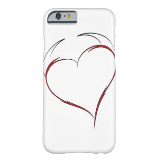 Heart with Horns Barely There iPhone 6 Case