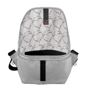 Heart with Horns Courier Bag