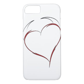 Heart with Horns iPhone 8/7 Case