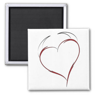 Heart with Horns Magnet