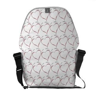 Heart with Horns Messenger Bag