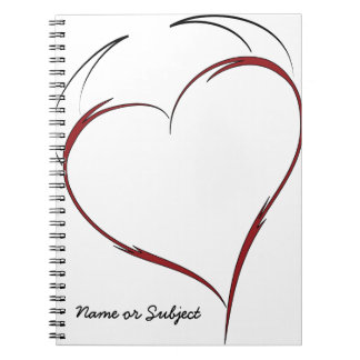 Heart with Horns Notebook
