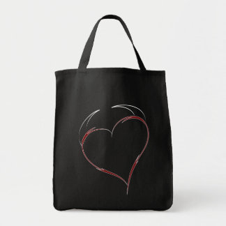Heart with Horns Tote Bag