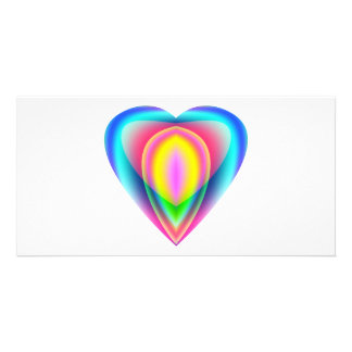 Heart with Inviting Colors Card
