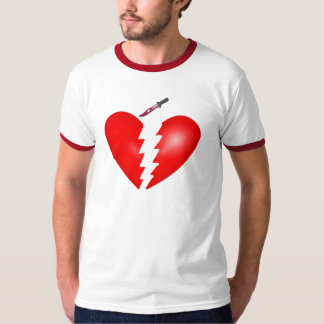 Heart With Knife T-Shirt
