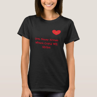 Heart with Lighting Bolt and Saying T-shirt