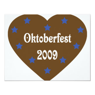 Heart with Oktoberfest icon Card