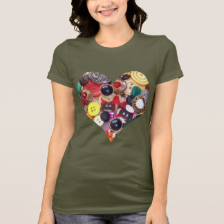 Heart with Scottie Dogs T-Shirt