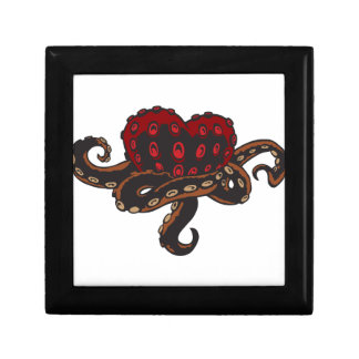 Heart with Tentacles Jewelry Box