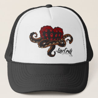 Heart with Tentacles Trucker Hat