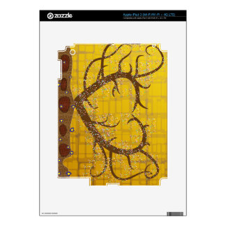 Heart with thorns in Klimt's style Decal For iPad 3