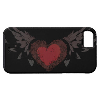 Heart with Wings iPhone SE/5/5s Case
