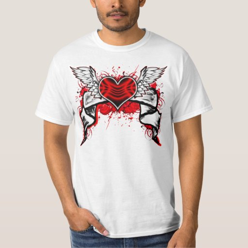 Heart With Wings: T-Shirt